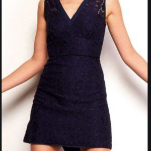 Lulu's Lace Navy Dress